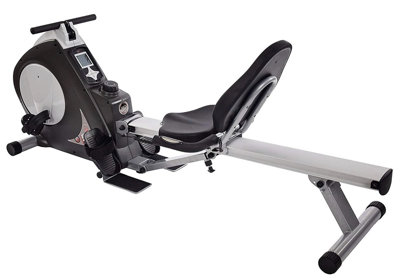 Stamina Deluxe Conversion II Recumbent Bike Rower 15-9003