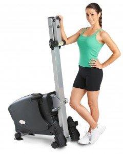 LifeSpan Fitness RW1000 Rowing Machine Storage