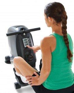 LifeSpan Fitness RW1000 Rowig Machine Fitness Monitor