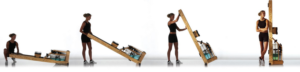WaterRower Natural Rowing Machien Storage