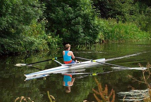 Differences between indoor and outdoor rowing