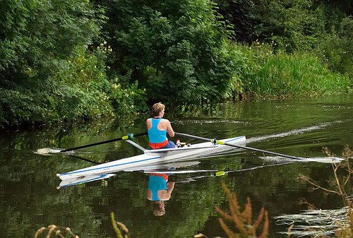 Differences between indoor and outdoor rowing
