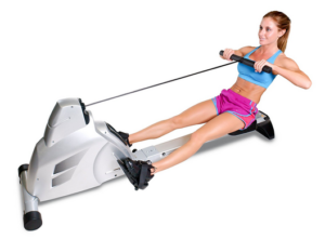Velocity Exercise Magnetic Rower Capacity