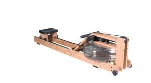 wood water rowing machine