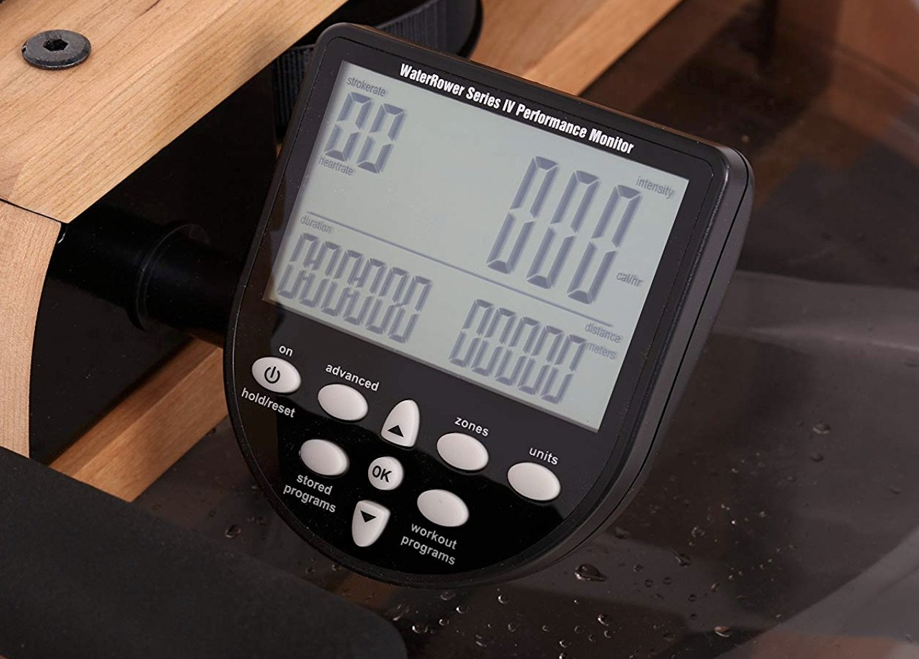 WaterRower Oxbridge Rowing Machine S4 Monitor