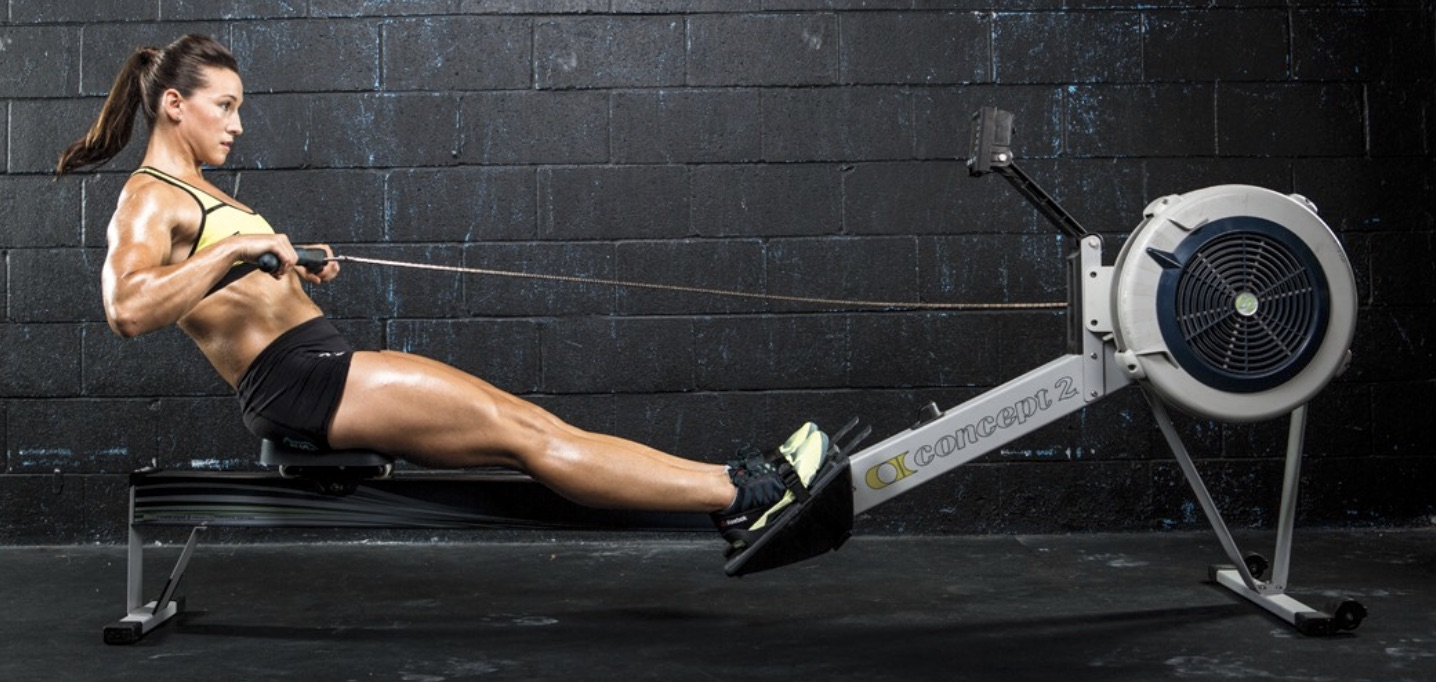 Crossfit Rower Muscles
