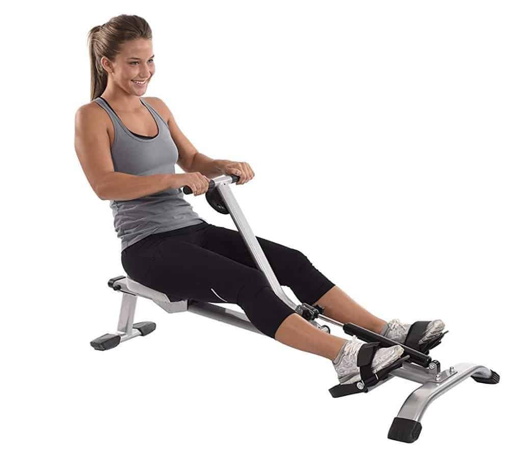 Stamina InMotion Rowing Machine Capacity