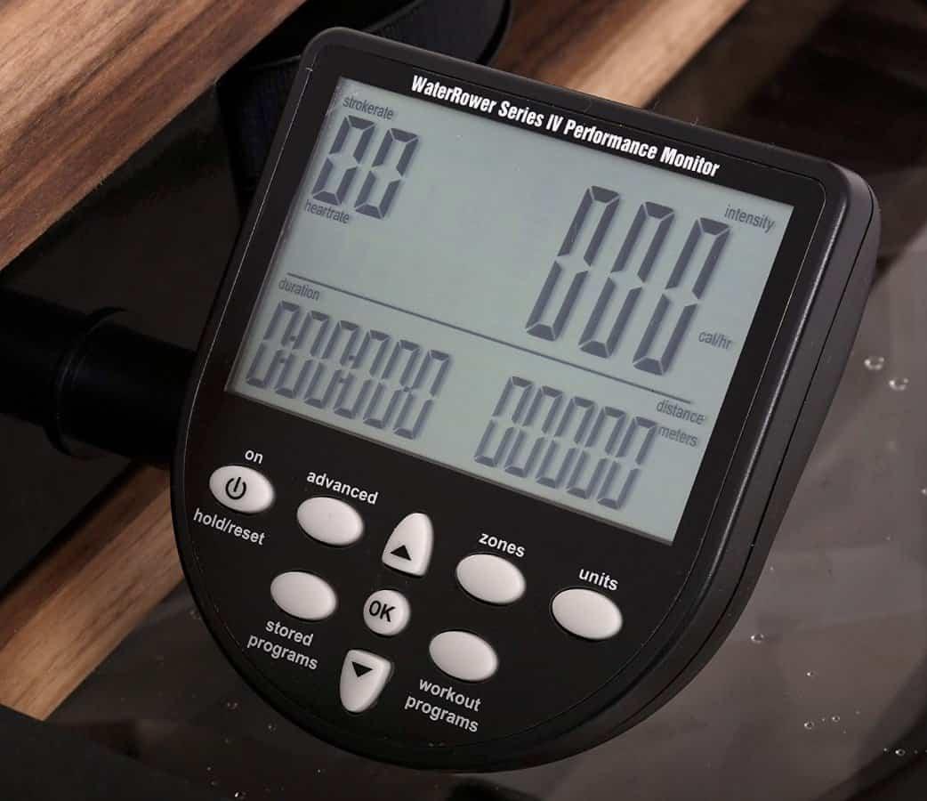 WaterRower Classic Rowing Machine Monitor