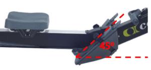 Concept2 Rowing Machine Shoes Placement