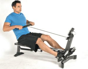 Stamina Avari Easy Glide Rowing Machine Capacity