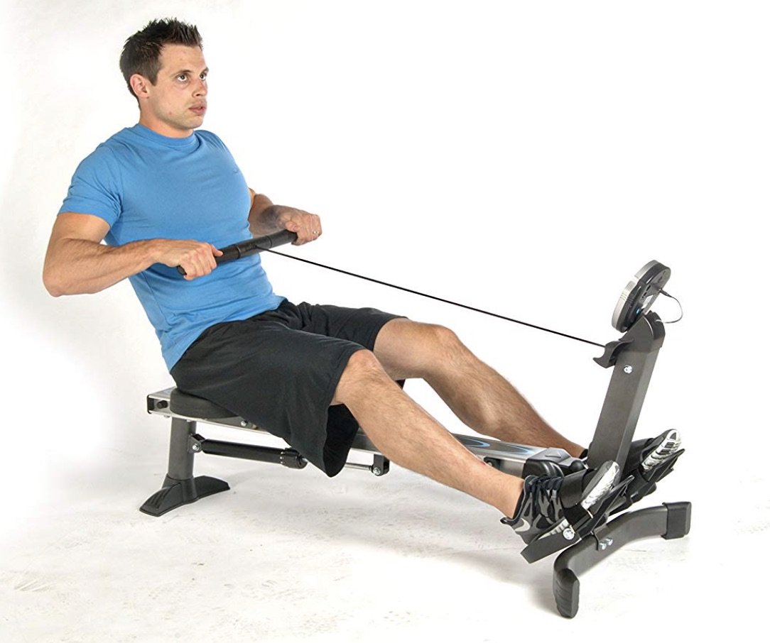 Stamina Avari Easy Glide Rowing Machine Capacity