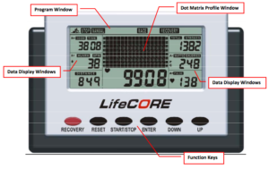 Lifecore Fitness R88 Rowing Machine Monitor