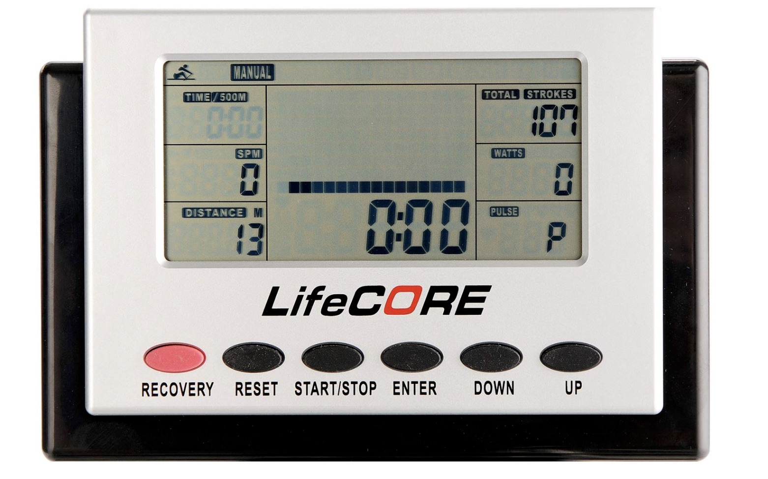 Lifecore Fitness R88 Rowing Machine Monitor