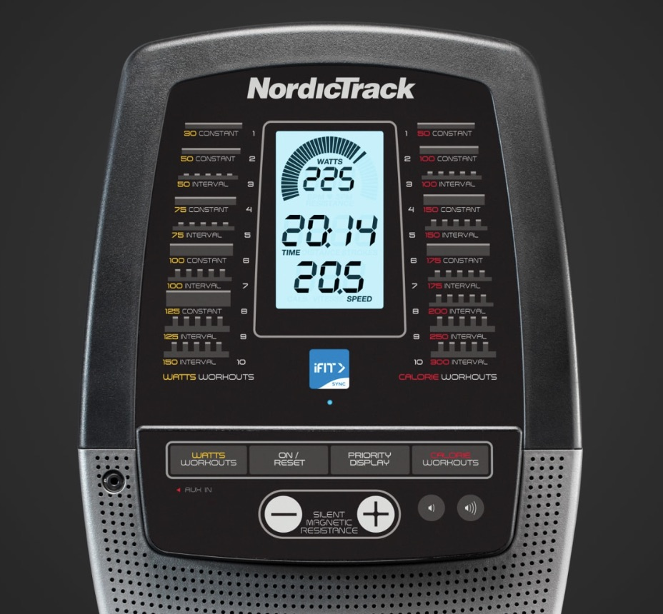 NordicTrack Rowing Machine Monitor