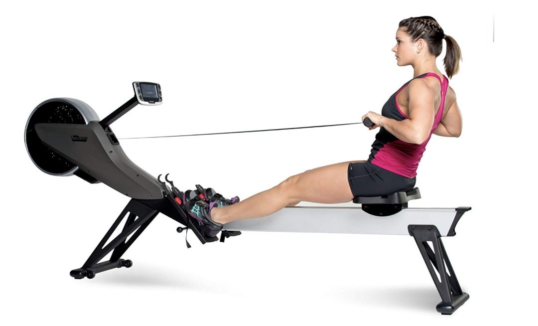 Velocity Exercise Air Magnetic Rowing Machine