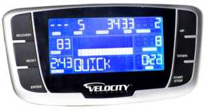Velocity Exercise Vantage Magnetic Rowing Machine Monitor