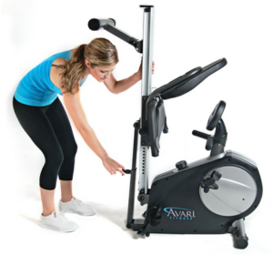 Avari Conversion II Rower Recumbent Bike Storage