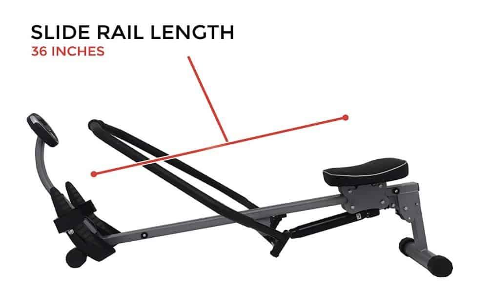Sunny Health SF-RW1410 Rower Capacity