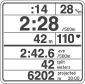 Air Rower Monitor