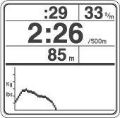 Air Rowing Machine Monitor