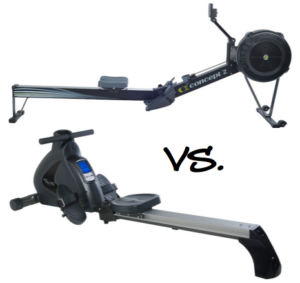 Air vs. Magnetic Rowing Machine