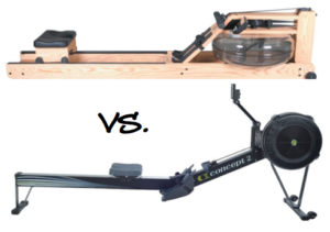 Water vs. Air Rowing Machine