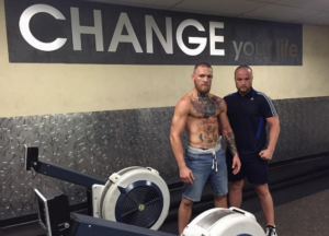 Conor McGregor Rowing Machine