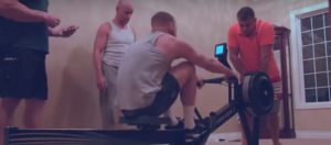 Conor McGregor Rowing Machine Workout