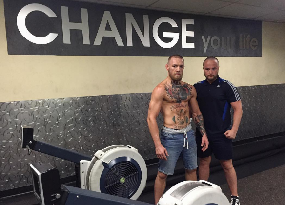 Conor McGregor Rowing Machine