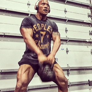 Dwayne The Rock Johnson Kettlebell