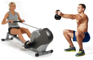 Rowing Kettlebell Workout