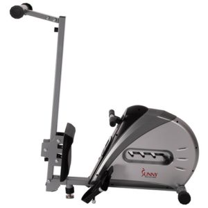 Sunny Health & Fitness SF-RW5606 Elastic Cord Rowing Machine Storage