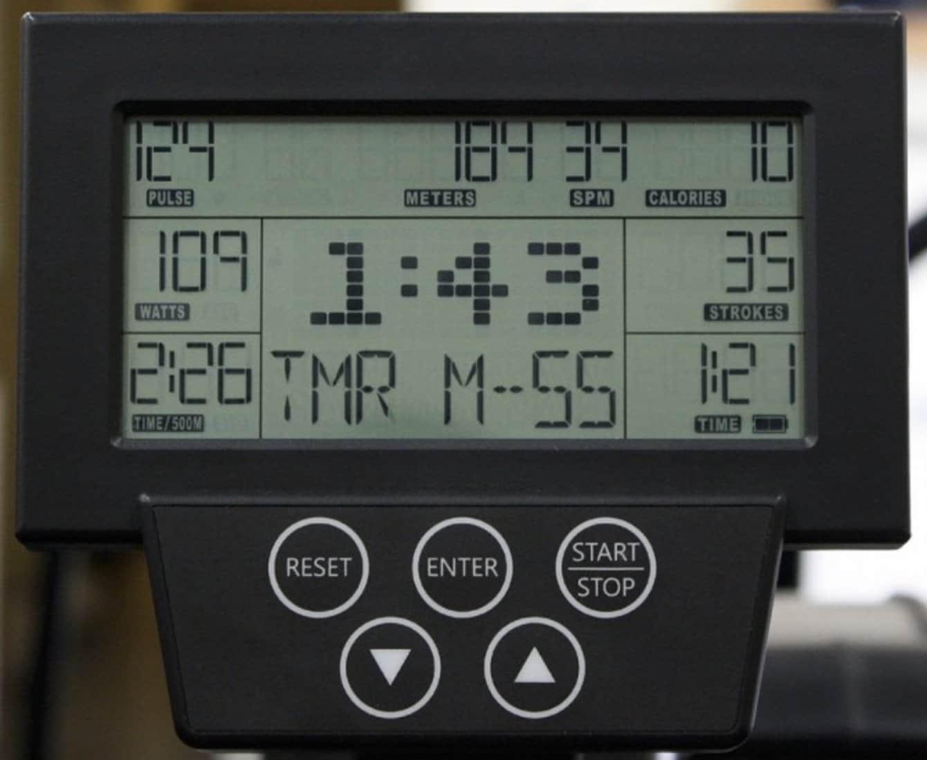 Xebex Air Rower 2.0 Monitor