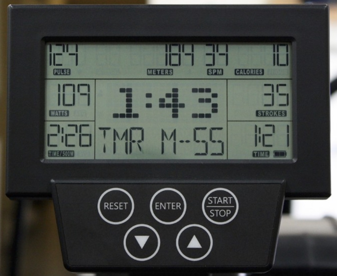 Xebex Air Rower 2.0 Monitor