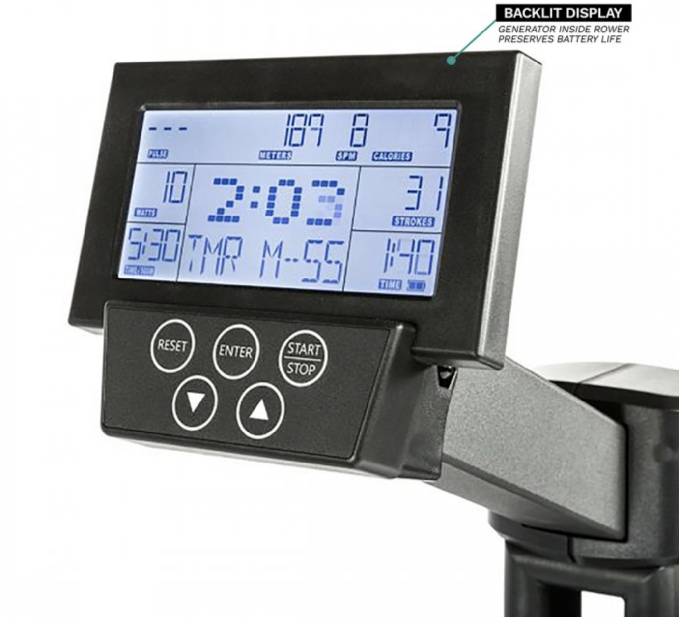 Xebex Air Rower 3.0 Monitor