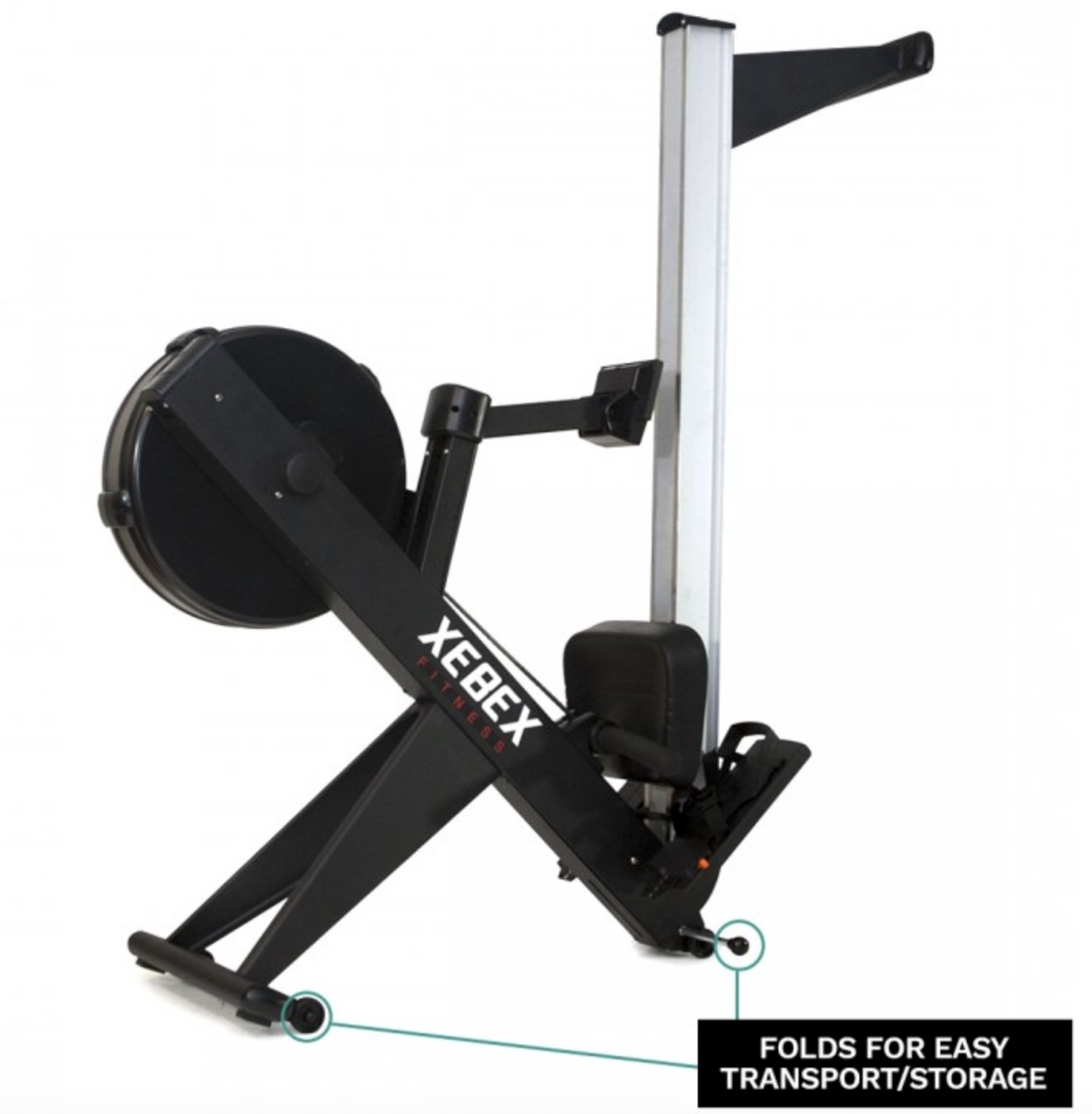 Xebex Air Rower Storage