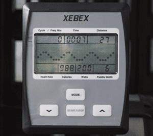 Xebex Rowing Machine Monitor