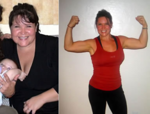 Rowing Before and After Weight Loss