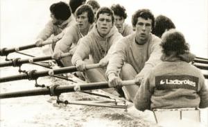 Hugh Laurie Rowing