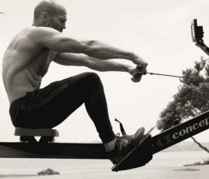 Jason Statham Rowing Machine