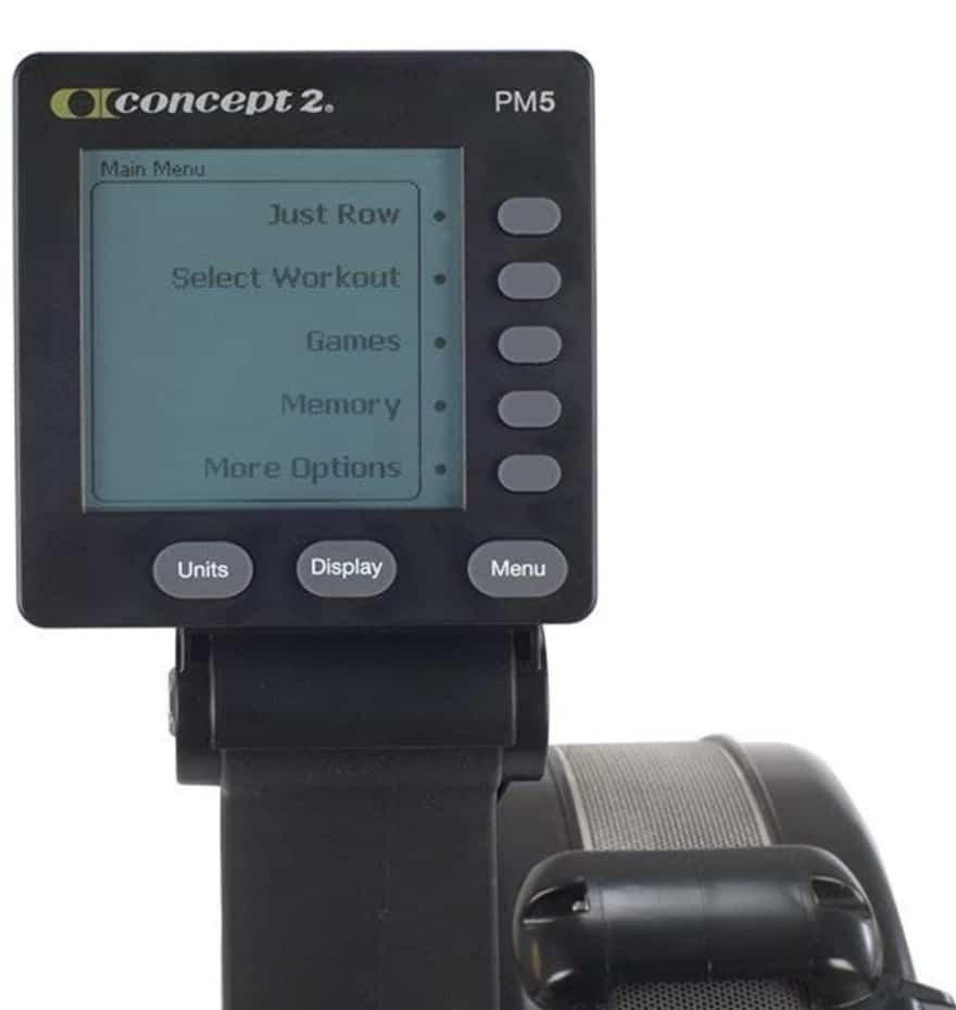 Concept2 Model D PM5 Monitor