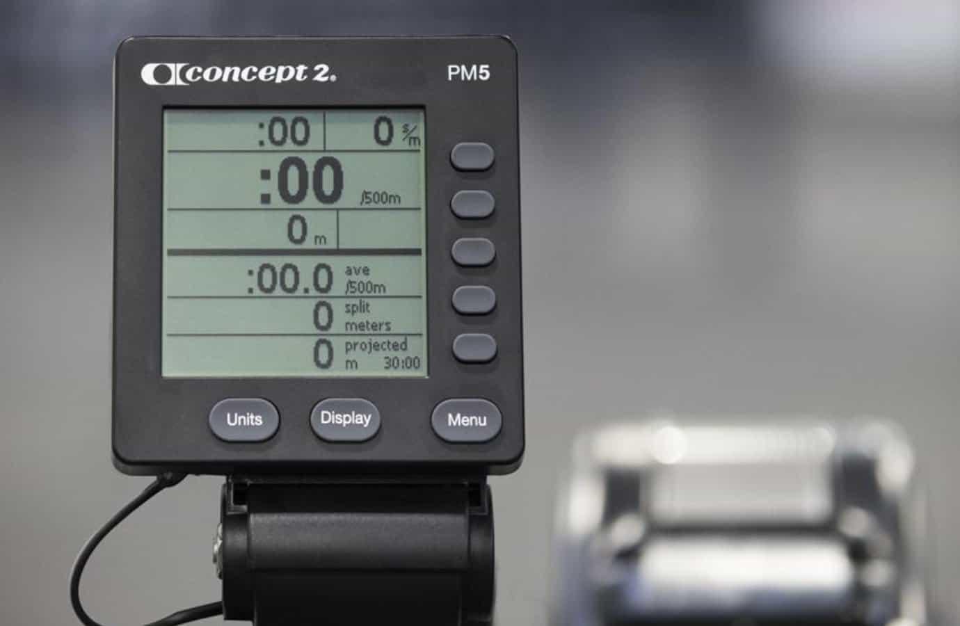 Concept2 Model D PM5 Size
