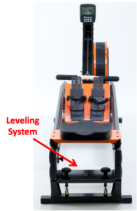 WaterRower Slider Dynamic Leveling System