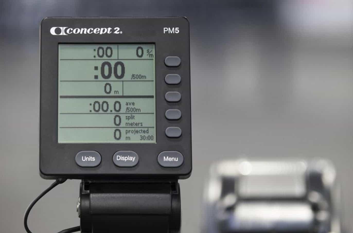 Concept2 Model E Rower PM5 Monitor