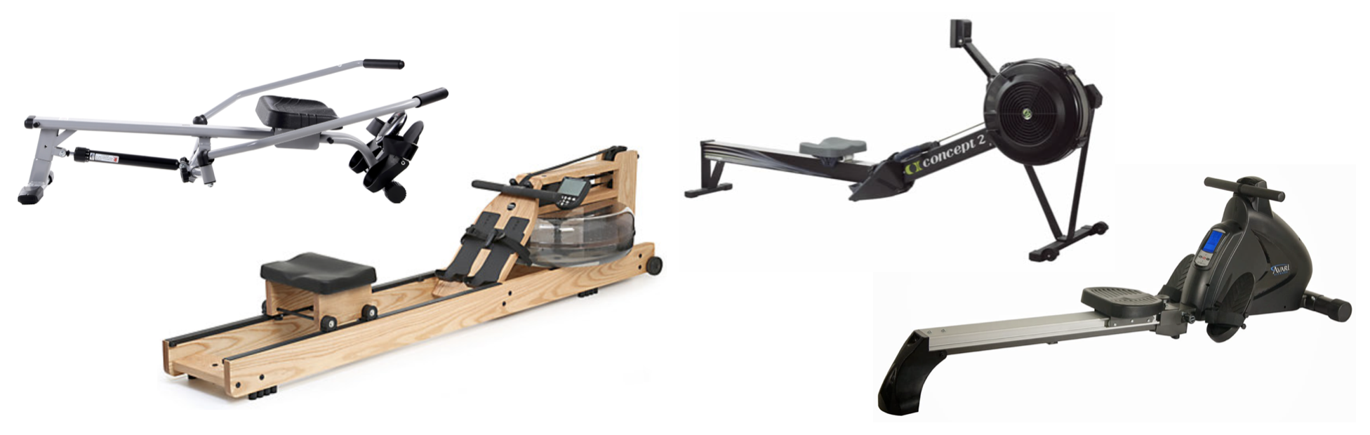 High Weight Capacity Rowing Machine Models All Resistance Categories