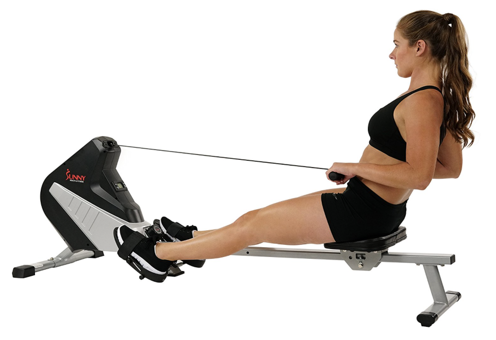 Sunny Health & Fitness SF-RW5634 Magnetic Rowing Machine