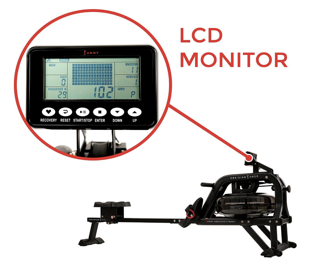 Surge Water Rower Monitor