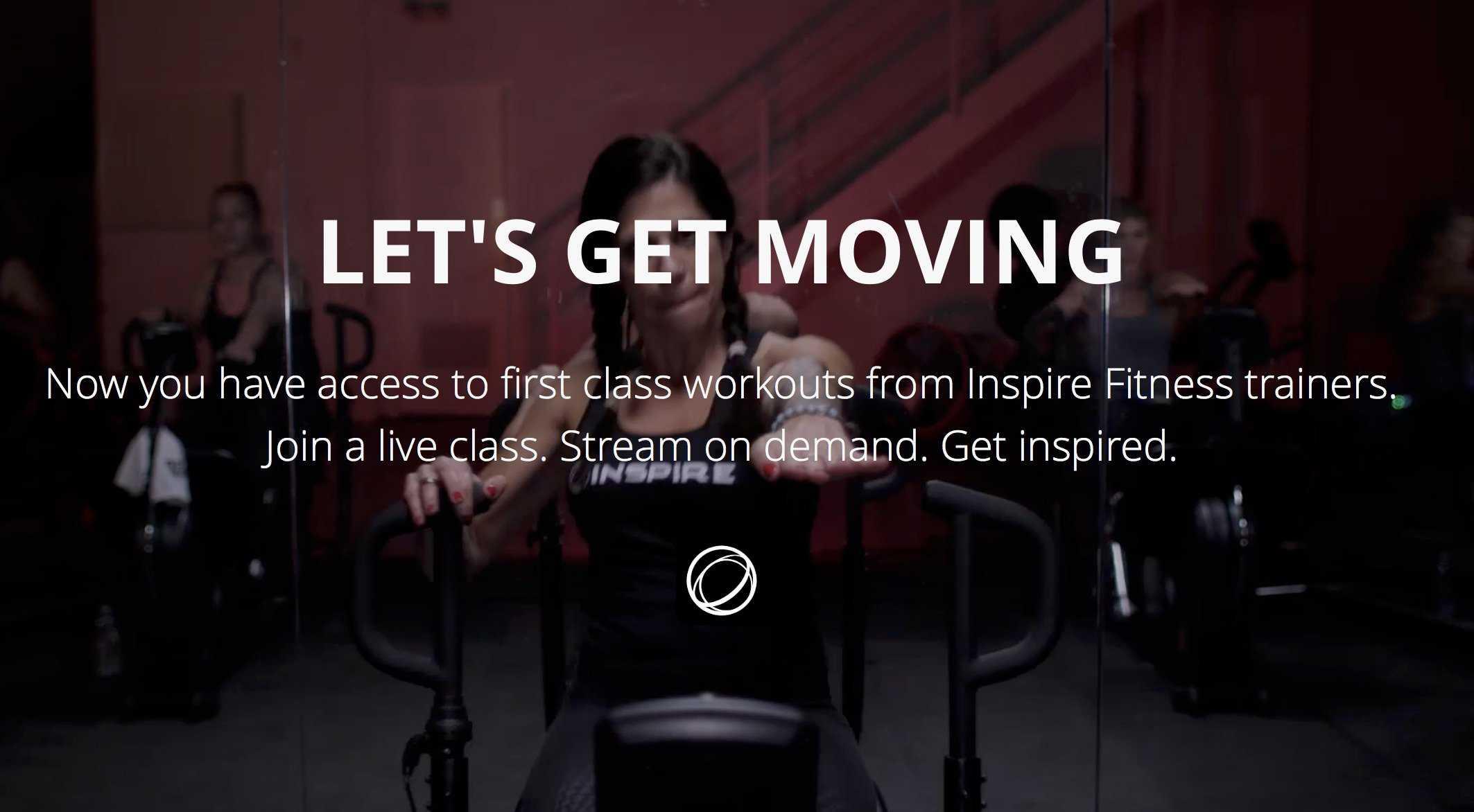 Inspire Fitness CR2 Cross Rowing Machine App