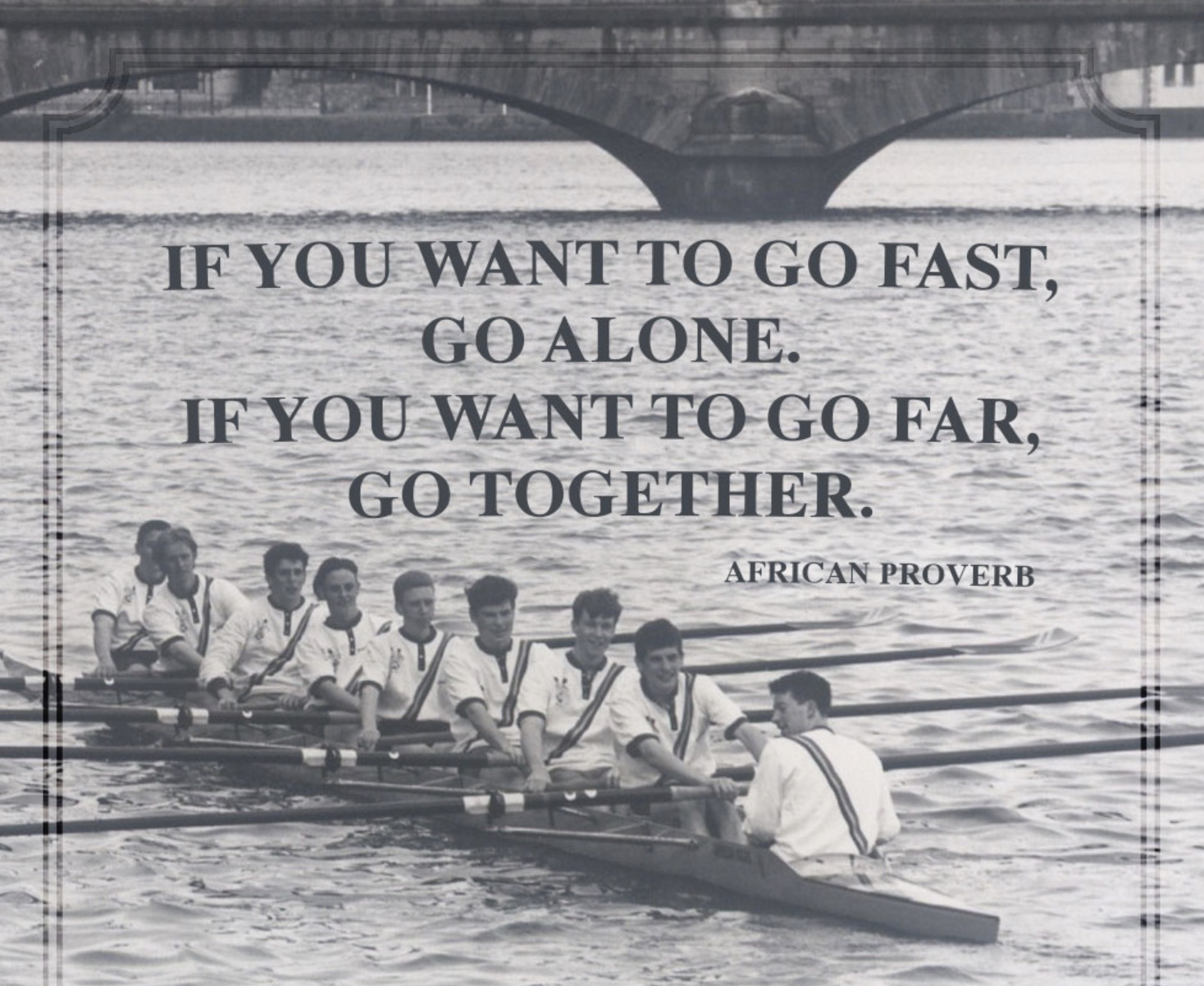 Rowing Quotes Teamwork