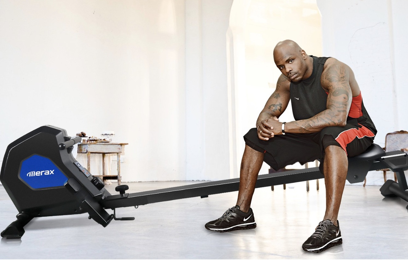 Merax Magnetic Exercise Rower